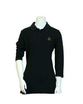 36d1352403 EX Cotton Pique Ladies 3 4 Sleeve Sportshirt