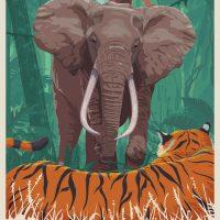 Tarzan Welcome to the Jungle Poster