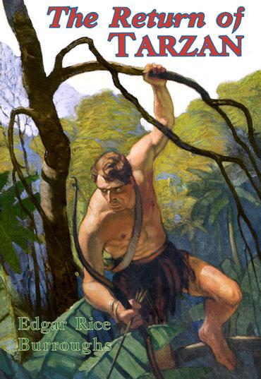 Return of Tarzan Dustjacket