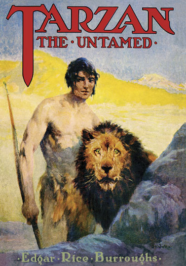 1920 Tarzan the Untamed [A.C. McClurg & Co]