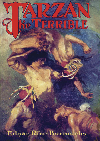 1921 Tarzan the Terrible [A.C. McClurg & Co]