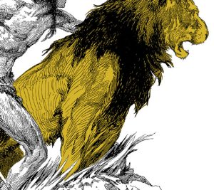 1923 Tarzan and the Golden Lion [A.C. McClurg & Co]
