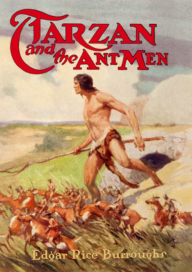 1924 Tarzan and the Ant Men [A.C. McClurg & Co]