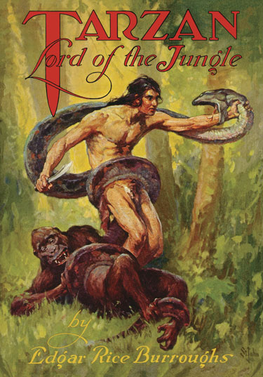 1928 Tarzan, Lord of the Jungle [A.C. McClurg & Co]